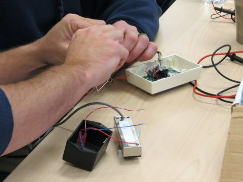 Doorways technicians receive hands-on training with electronic access control.