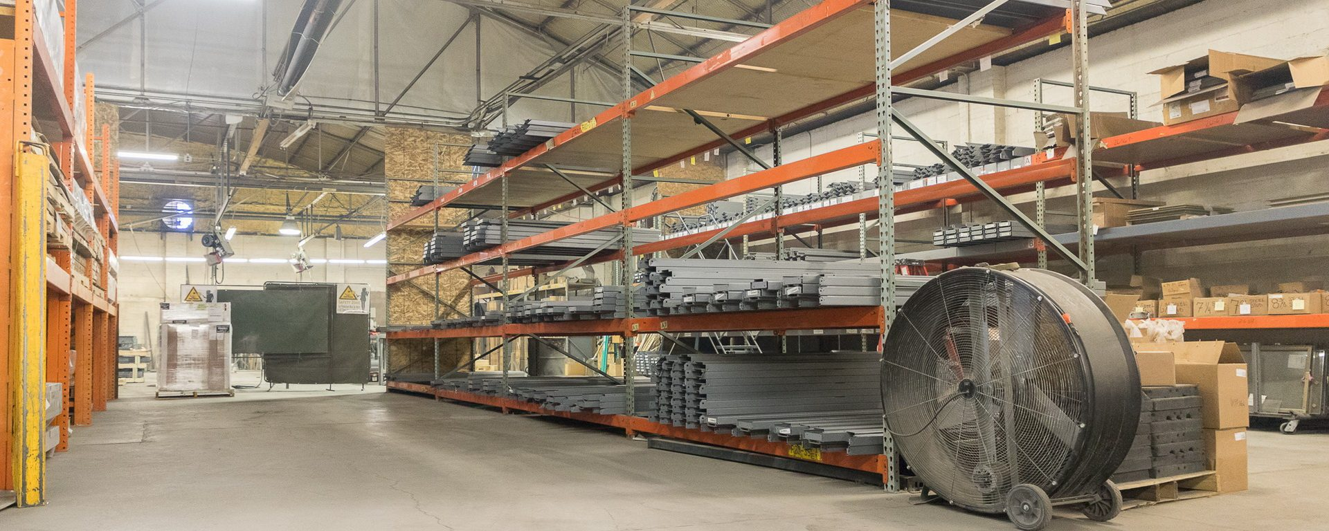 Doorways of Wyoming warehouse